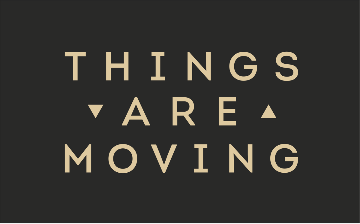 Logo Things Are Moving