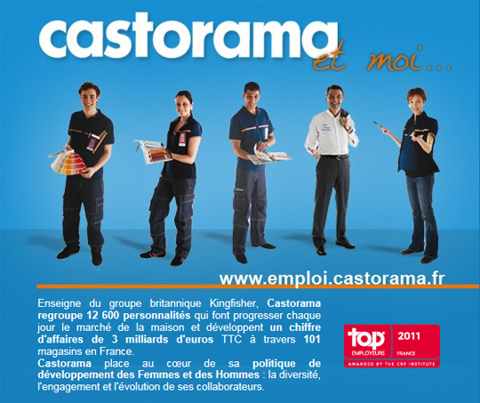 castorama stage emploi les annonces castorama sont sur iquesta. Black Bedroom Furniture Sets. Home Design Ideas