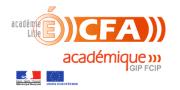 Logo CFA AC Lille