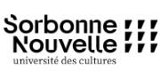 Logo Université Paris 3 - Sorbonne Nouvelle