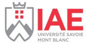 Logo IAE Savoie Mont-Blanc