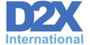 Logo D2X International